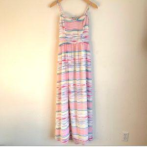 Jack by BB Dakota striped tank maxi dress